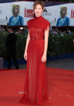 Alba Rohrwacher In Valentino Couture - 'Blood Of My Blood' Venice Film Festival Premiere