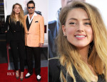 Amber Heard In Dolce & Gabbana - 'Black Mass' Boston Premiere