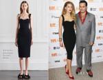 Amber Heard In Victoria Beckham - 'Black Mass' Toronto Film Festival Premiere