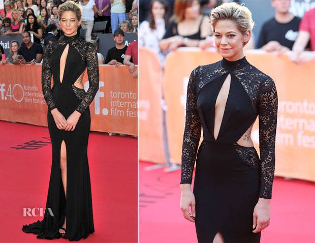 Analeigh Tipton In Michael Costello - 'Mississippi Grind' Toronto Film Festival Premiere