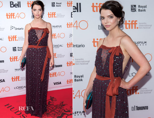 Anya Taylor-Joy In Prada -  'The Witch' Toronto Film Festival Premiere