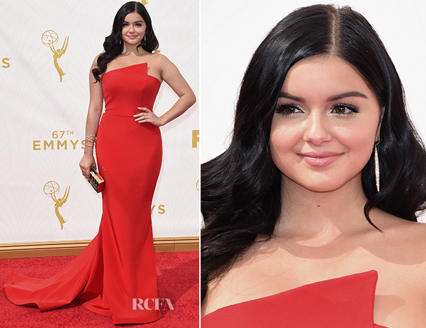 Ariel Winter In Romona Keveza - 2015 Emmy Awards