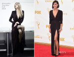 Aubrey Plaza In Alexandre Vauthier - 2015 Emmy Awards