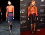Bella Thorne In Balmain - Macy's Presents Fashion's Front Row