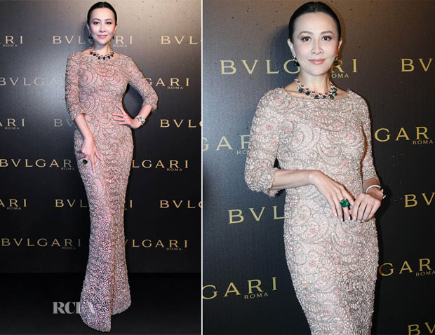 Carina Lau In Ralph & Russo Couture - Bulgari High Jewellery Dinner