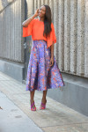 Zara top, L.K.Bennett skirt & shoes