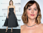 Dakota Johnson In Christian Dior - amfAR Milano 2015
