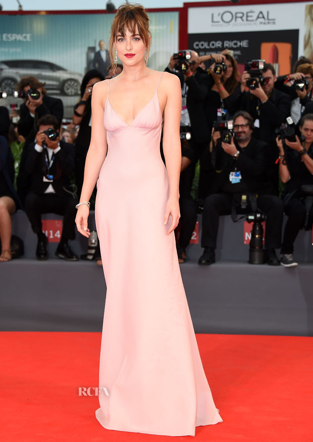 Dakota Johnson In Prada - \'Black Mass\' Venice Film Festival Premiere ...