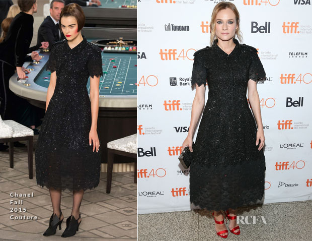 Diane Kruger In Chanel Couture - 'Sky' Toronto Film Festival Photocall