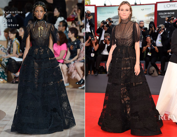 Diane Kruger In Valentino Couture - 'Lao Pao Er' Venice Film Festival Premiere & Closing Ceremony