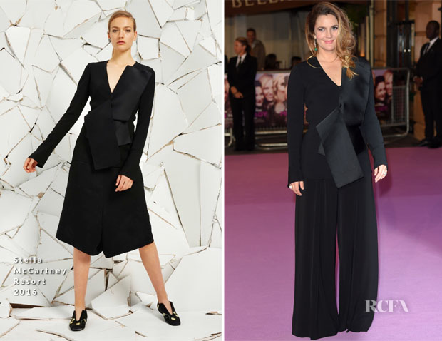 Drew Barrymore In Stella McCartney - 'Miss You Already' London Premiere