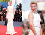 Elizabeth Banks In Dolce & Gabbana -  'Everest' Venice Film Festival & Opening Ceremony