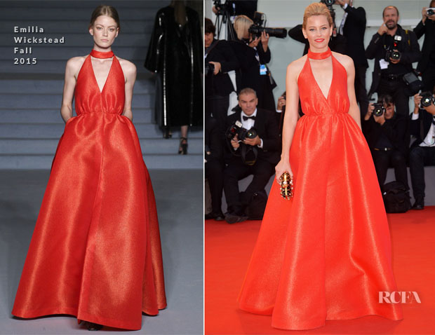 Elizabeth Banks In Emilia Wickstead - 'Lao Pao Er' Venice Film Festival Premiere & Closing Ceremony