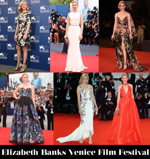Elizabeth Banks Venice Film Festival
