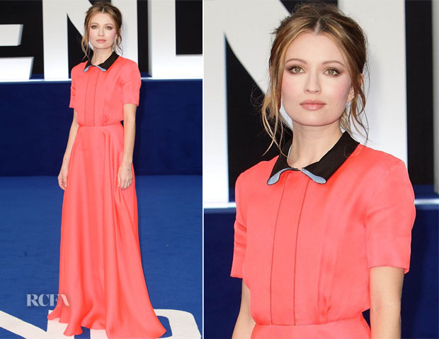 Emily Browning In Roksanda - 'Legend' London Premiere