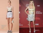 Emma Roberts In Alexander McQueen - 'Scream Queens' LA Premiere