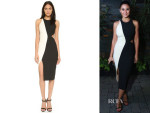 Emmanuelle Chriqui's Elizabeth and James Lunai Dress