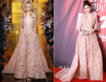 Fan Bingbing In Elie Saab Couture - 2015 Bazaar Star Charity Night