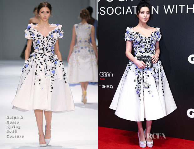 Fan Bingbing In Ralph & Russo Couture - GQ Men of the Year Awards