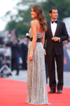 Elisa Sednaoui in Armani Prive