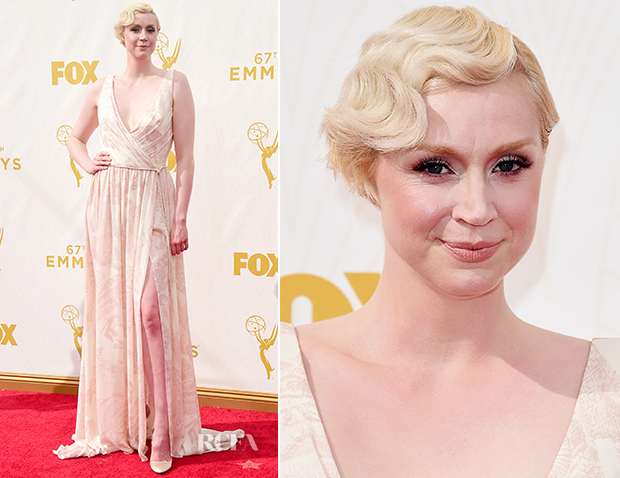 Gwendoline Christie In Giles - 2015 Emmy Awards