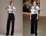 Gwyneth Paltrow In Monique Lhuillier - The Broad Museum Black Tie Inaugural Dinner