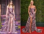 Heidi Klum In Atelier Versace - 2015 Creative Arts Emmy Awards