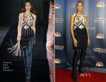 Heidi Klum In Azzaro Couture - America's Got Talent Post-Show Red Carpet