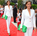 Irina Shayk In Versace - Madison Square Park Conservancy's Fall Fundraising Gala