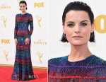Jaimie Alexander In Armani Privé - 2015 Emmy Awards