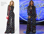 Jennifer Lopez In Diane von Furstenberg - 'American Idol' Atlanta Auditions