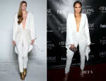 Jennifer Lopez In Michael Costello -  Vegas Residency Launch Party