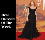 Best Dressed Of The Week - Jessica Chastain In Elie Saab Couture, Joe Manganiello & Hugh Dancy In Ralph Lauren Black Label