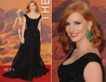 Jessica Chastain In Elie Saab Couture - 'The Martian' London Premiere