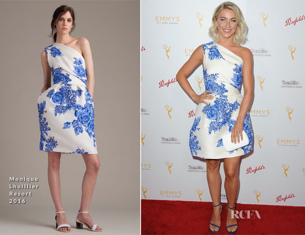 Julianne Hough In Monique Lhuillier - Television Academy Hosts Cocktail Reception For The 67th Emmy Award Nominees For Outstanding Choreography