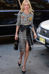 Kate Bosworth In Alexander McQueen - Live! With Kelly and Michael