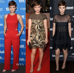 Kate Mara In A.L.C., Valentino & Self-Portrait - 'The Martian' Toronto Film Festival Photocall & Premiere