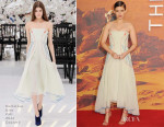 Kate Mara In Christian Dior Couture - 'The Martian' London Premiere