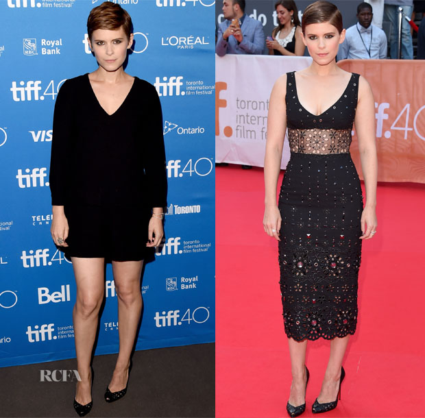 Kate Mara In Madwell & Marc Jacobs - 'Man Down' Toronto International Film Festival Photocall & Premiere