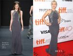 Kate Winslet In Badgley Mischka - 'The Dressmaker' Toronto Film Festival Premiere