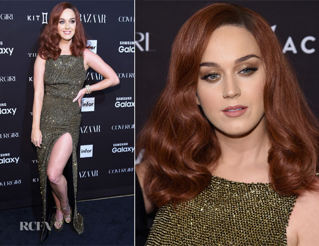 Katy Perry In Saint Laurent - 2015 Harper's Bazaar ICONS Event