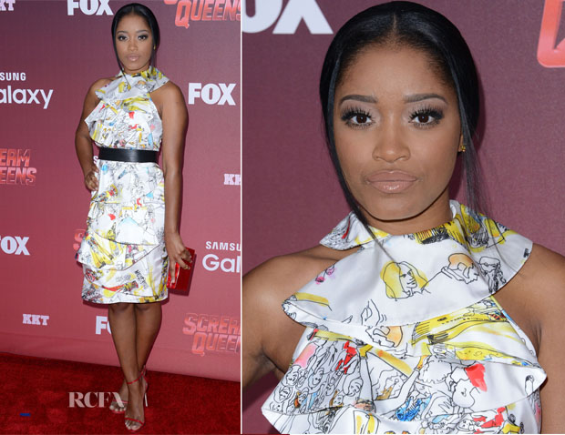 Keke Palmer In Moschino - 'Scream Queens' LA Premiere