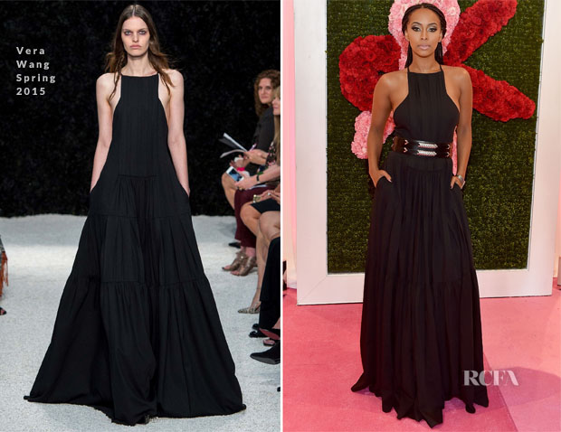 Keri Hilson In Vera Wang - 2015 Jeffrey Fashion Cares Atlanta