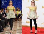 Kiernan Shipka In Christian Dior Couture - 2015 Emmy Awards