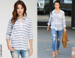 Kourtney Kardashian's Forever 21 Contemporary Classic Striped Shirt