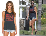 Kourtney Kardashian's MATE the Label Rebel Child Tank