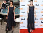 Kristen Stewart In Chanel Couture - 'Equals' Toronto Film Festival Premiere