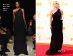 Lady Gaga In Brandon Maxwell - 2015 Emmy Awards