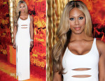 Laverne Cox In Calvin Klein Collection - HBO's Official 2015 Emmy After Party