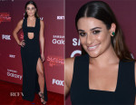 Lea Michele In David Koma - 'Scream Queens' LA Premiere